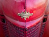 Detail View of an Old Fire Truck Reprodukcja zdjęcia autor Raul Touzon