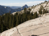 Half Dome Looms Above Tioga Pass in Yosemite National Park Photographic Print by Charles Kogod
