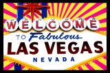 Fantastisches Las Vegas|Fabulous Las Vegas Kunstdruck