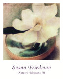Nature's Blossoms III Print by Susan Friedman