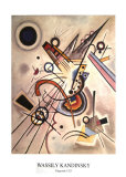 Diagonale Posters by Wassily Kandinsky