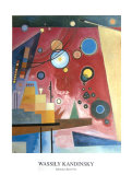Composition with Red Collectable Print by Wassily Kandinsky