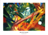 The Monkey Plakater af Franz Marc