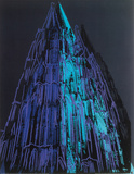 Cologne Cathedral, c.1985 (Blue) Prints by Andy Warhol