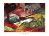 Traum 1913 Posters by Franz Marc
