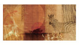 Safari Sunset I Poster van Tandi Venter