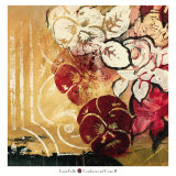 Cranberries and Creme II Prints by Laurie Fields