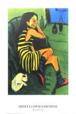 The Artist Print by Ernst Ludwig Kirchner