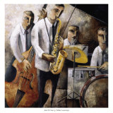 Jazz en Vivo Art by Didier Lourenco