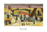 Station L 112, 14 km Kunstdrucke von Paul Klee