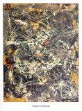Untitled (1949) Schilderij van Jackson Pollock