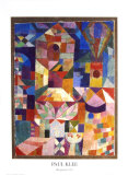 Garden View Posters af Paul Klee