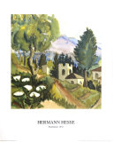 Dorfmotif Prints by Herman Hesse