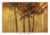 Sunset Palms III Prints by  Amori