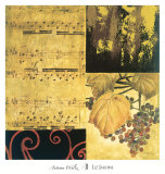 Autumn Waltz II Prints by Elizabeth Jardine