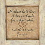 Mother's Hold Posters by Karen Tribett