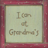 I Can at Grandma's Print by Karen Tribett