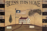 Bless This Home Art by Kim Klassen