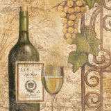 Wine Posters by John Zaccheo
