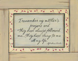 I Remember Prints by Karen Tribett