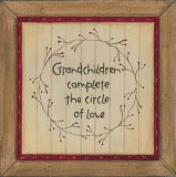 Grandchildren Poster by Karen Tribett