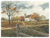 Autumn Barn Prints by Michael Humphries