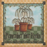 Remember Your Roots Posters by David Harden