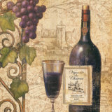 Merlot Prints by John Zaccheo