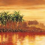 Paradise II Art by J.t. Vegar