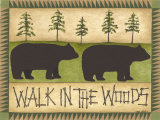 Walk in the Woods Print by Cindy Shamp