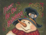 Home For the Holidays Poster by Kim Lewis