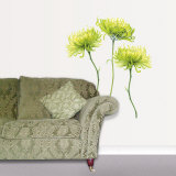 Chrysanthemums Wall Decal