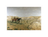 Cowboys in the Badlands, 1888, Giclee Print; Thomas Eakins