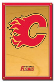 Calgary Flames (New Logo) Posters