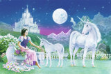 Unicorn Princess Print by Robin Koni
