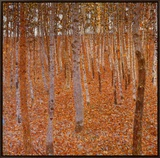 Beechwood Forest, 1903 Framed Canvas Print by Gustav Klimt