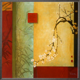 Spring Chorus Framed Canvas Print by Don Li-Leger