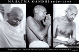 Gandhi - Indomitable Will Posters