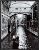 Canal de Veneza Impressão em tela emoldurada por Cyndi Schick