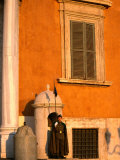 Sentry Standing Guard at Palazzo Del Quirinale, Residence of the Italian President, Rome, Italy Photographic Print by Jonathan Smith