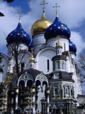 Cathedral of the Assumption, Sergiev Posad, Russia Photographic Print by Martin Moos