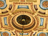 Ceiling Detail, Union Station, Kansas City, USA Photographic Print by Richard Cummins