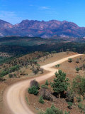 Dirt Road Winding Through Range, Flinders Ranges National Park, Australia Photographic Print by Christopher Groenhout