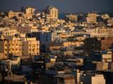City in Late Afternoon Manama, Al Manamah, Bahrain Photographic Print by Phil Weymouth