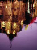 Building Reflection in Canal, Amsterdam, North Holland, Netherlands Photographic Print by Lou Jones