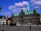 Malmo City Hall or Radhuset, Malmo, Skane, Sweden Photographic Print by Anders Blomqvist