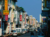 Chinatown Street, Georgetown, Penang, Malaysia Photographic Print by Anders Blomqvist