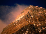 Mt. Everest at Sunset, Mt. Everest,Sagarmatha, Nepal Photographic Print by Anders Blomqvist