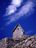 Stone House at Machu Picchu, Machu Picchu, Cuzco, Peru Photographic Print by Shannon Nace