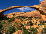 Landscape Arch, Arches National Park, Utah, USA Photographic Print by Carol Polich